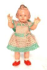 Puppe Milon Gehler MiGe Hartplast 22 cm ALT für Puppenstube