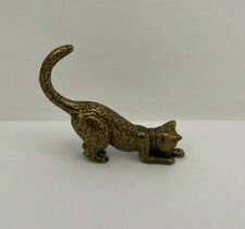 The Franklin Mint Metal Cat 4 inch Figurine Paperweight