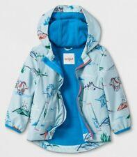 Boys Toddler Cat & Jack Softshell Hooded Jacket Wind & Water Resistant 12M (3284