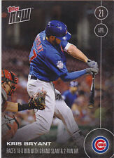 KRIS BRYANT 2016 TOPPS NOW CARD 29 PRINT RUN 1644 Chicago Cubs RARE OL Exclusive