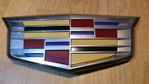 2015-2020 Cadillac Escalade Front Bumper Grille Emblem ESV OEM GM #23182045