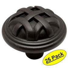 *25 Pack* Cosmas Oil Rubbed Bronze Cabinet Knobs #775ORB