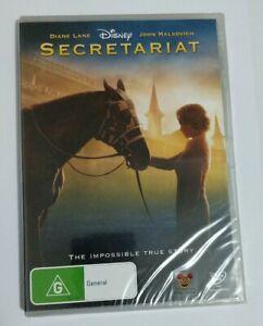 Secretariat 🎬 DVD Region 4 PAL 🎬 🆕
