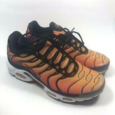 aa20334976 Nike Air Max Plus Tn OG Sunset Black White Orange Men's Size 10 Rare BQ4629-