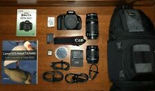 Canon EOS Rebel T3i/EOS 600D 18mp DSLR Camera Kit Lens & Accessory Bundle