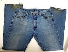 Mens Levi Strauss 559 Straight Leg Classic Rise Blue Jeans Denim Pants 36 x 34
