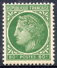 STAMP /  TIMBRE FRANCE NEUF N° 675 ** TYPE CERES DE MAZELIN