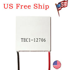 1 Pack TEC1-12706 Cooling Peltier Plate Thermoelectric Cooler Heat Sink Module