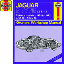 [0140] Jaguar E Type 3.8 4.2 1961-72 (up to L Reg) Haynes Manual Classic Reprint