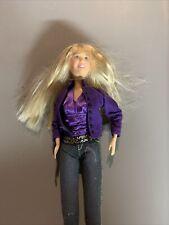 Disney Fashion Doll Miley Cyrus Barbie Doll Hannah Montana 2007 PA Q1