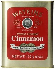2 Cans Watkins Ground Cinnamon 6 oz. - FAST FREE SHIPPING! 12 oz total
