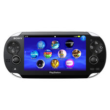 Sony PlayStation Vita Black Handheld System (Wi-Fi + 3G)