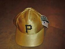 Pittsburgh Pirates hat GOLD snapback VINTAGE 90s Mint nwt NEW w/ tag RaRe ds vtg