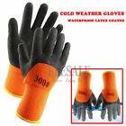 1 Pair Thermal Winter Working Gloves Builder Repairing Garden Waterproof