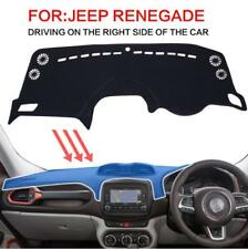 Car Dashboard Cover for Jeep Renegade 2015 2016 2017 Right Hand Drive Dash Mat