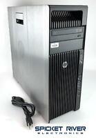 HP Z620 Workstation 3.30GHz Quad Xeon E5-2643 2TB HDD 16GB RAM Quadro NVS 510