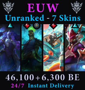 LoL EUW Account Unranked Zombie Brand Space Groove Blitz Acc League of Legends