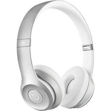 BEATS SOLO2 LUXE SILVER WIRED