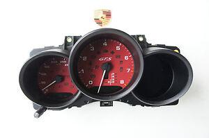 Porsche 95B Macan GTS Instrument Cluster Tachometer Carmine Tacho8