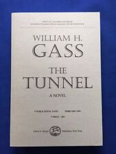 THE TUNNEL - UNCORRECTED PROOF BY WILLIAM GASS