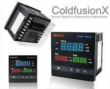 New Digital AC Power Watt Meter+Volt+Amp Display+Alarm
