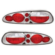 New Chrome Tail Light Set For 1997-2002 Chevrolet Camaro GM2801235 GM2800235