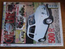 $$$ Revue Gazoline N°140 Fiat 500 RS404Pic-PicRevisionCoach DB HBR5