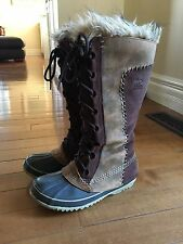SOREL 'CATE THE GREAT' WARM & WATERPROOF WINTER BOOTS Sz 7