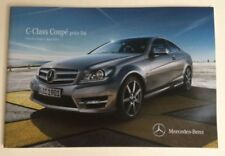 Paper Class C 2012 Car Sales Brochures