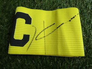 Jurgen Klinsmann Signed Captains 'Big C' Armband - Germany/Bayern Autograph