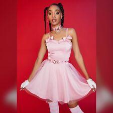 New Dolls Kill Hello Kitty Dressed With A Smile Mini Dress Small