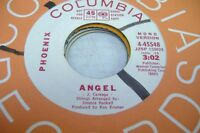 Rock Promo NM! 45 PHOENIX Angel on Columbia (promo)