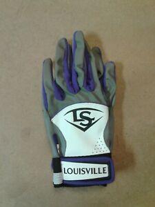 Louisville Slugger BG Diva Purple Batting Gloves Youth Large G1 BG3 No Tags