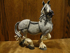 A BREED APART #CA00200  GREY DAPPLE HORSE by Country Artists From Retail Store