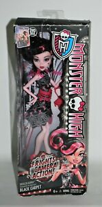Monster High Draculaura Daoughter of Dracula Doll Mattel 2013 Black Carpet 6+