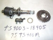 SUZUKI TS400 TM400 KICK SHAFT GEAR ASSY