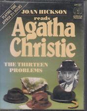 Agatha Christie Thirteen Problems 2 Cassette Audio Book Miss Marple FASTPOST