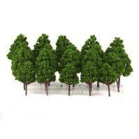 20PCS Mix Scale Model Trees Ho Train Sets Railway Wargame Diorama Scenery