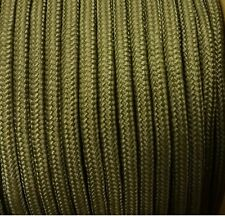 10mm KHAKI Strong Braided Polypropylene Plaited Poly Rope Cord Yacht Sailing