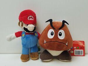 Nintendo Mario Brothers Plush Stuffed Animal Toy Collectible Goomba Mario