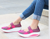 Women'S Casual Shoes Sport Woven Shoes For Women sandals Swing Shoes Breathable