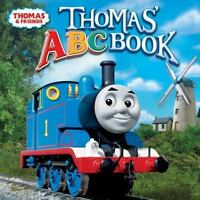 THOMAS'S ABC BOOK Thomas the Tank Engine 8x8 children's picture book trains NEW