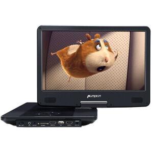 "14"" Tragbarer Blu-ray DVD Player HD Heimkino Auto Fernseher TV HDMI USB SD AKKU"
