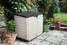 Garden Storage Box Shed Outdoor Patio Bins Bike Keter Store It Out Max New