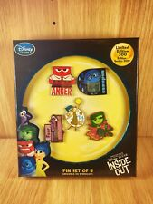 "Disney ""Alles steht Kopf"" / ""Inside Out"" Pin Set of 5 / Limited Edition 300"