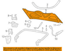 Chevrolet GM OEM 98-04 Corvette Stowage-Convertible/soft Top-Lid 10414341