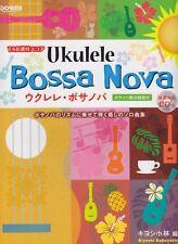 Ukulele Bossa Nova Score by Kiyoshi Kobayashi w/Tab & /Model Performance Cd New