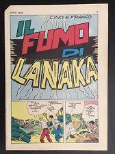 CINO E FRANCO - INSERTO SUPER ALBO - IL FUMO DI LANAKA