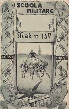 A1098) MODENA, SCUOLA MILITARE, CORSO 1909 -1911.