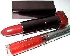 Cover Girl Lip Perfection Lipstick 230 Captivate + ShineBlast Lipgloss 875 Fire